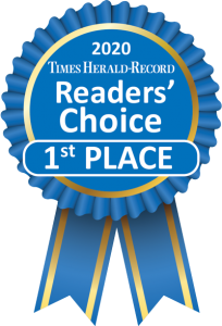 Times Herald Record Readers Choice 1st Place 2020