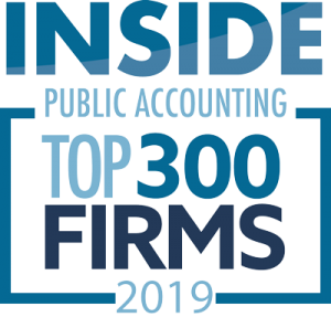 Inside Public Accounting - Top 300 Firms 2019