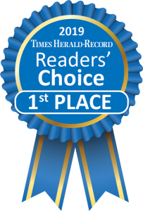 Times Herald Record Readers Choice 1st Place 2019