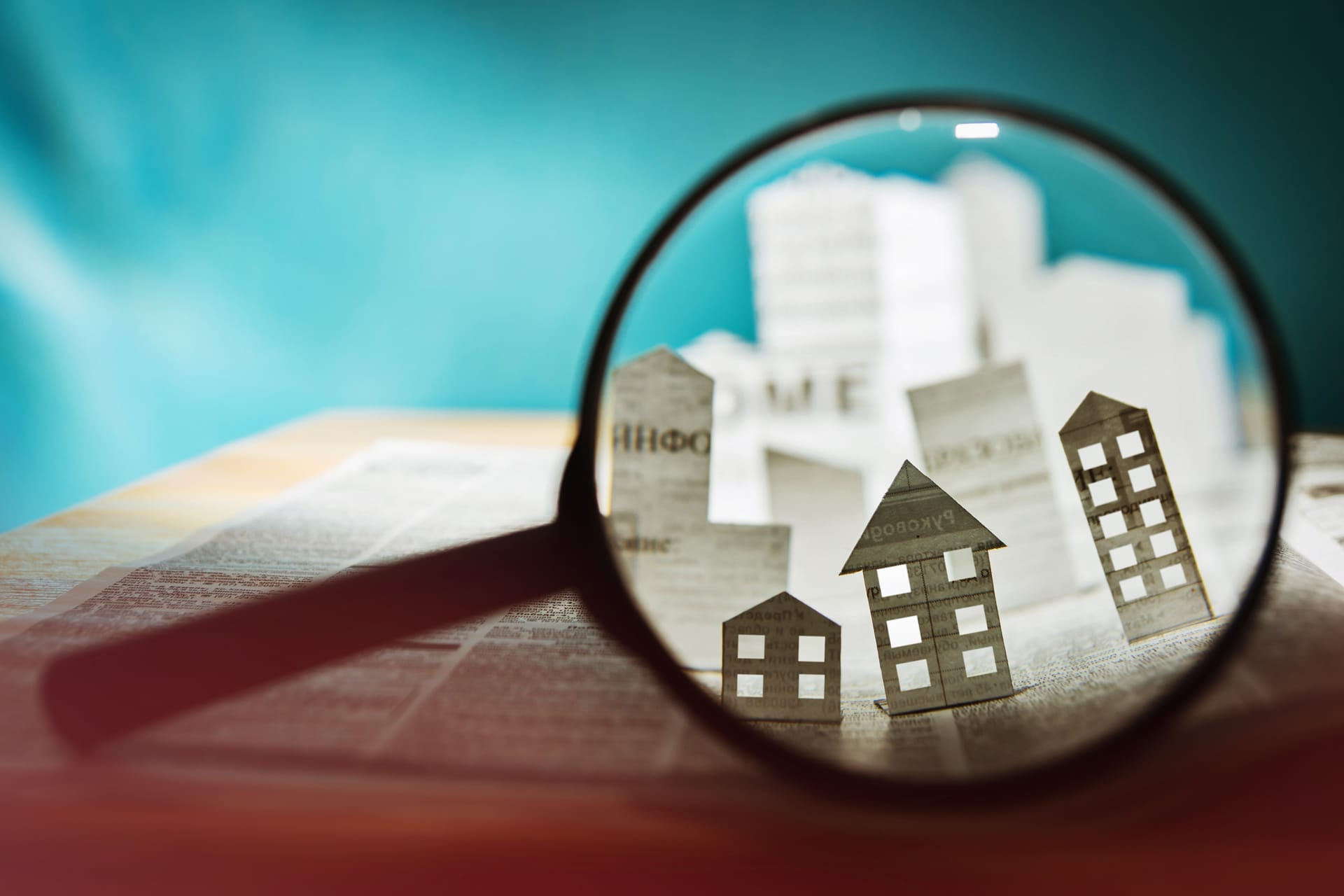 Buildings Through Magnifying Glass