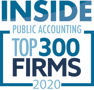 Inside Public Accounting - Top 300 Firms 2020